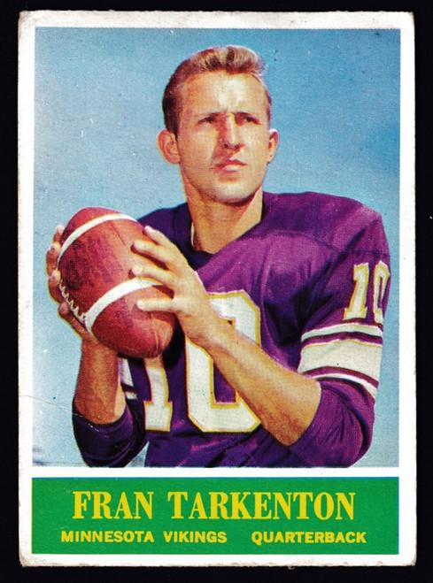 1964 Philadelphia #109 Fran Tarkenton Fair