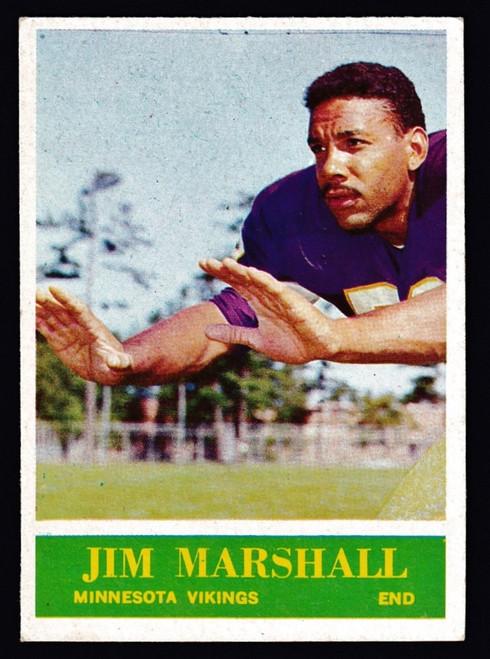1964 Philadelphia #104 Jim Marshall EXMT