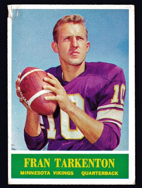 1964 Philadelphia #109 Fran Tarkenton Poor