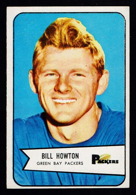 1954 Bowman #34 Bill Howton EX