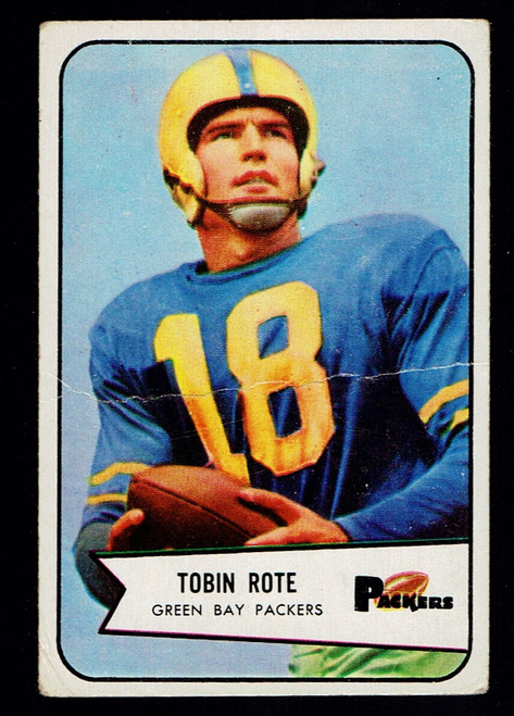 1954 Bowman #70 Tobin Rote Poor