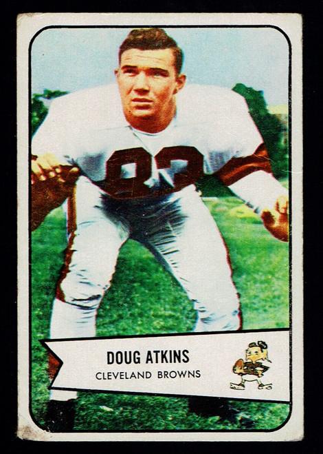 1954 Bowman #4 Doug Atkins RC Poor