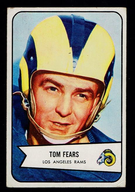 1954 Bowman #20 Tom Fears  VG