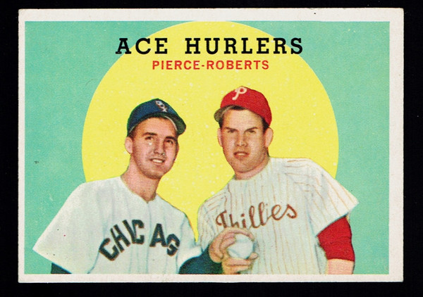 1959 Topps #156 Ace Hurlers Robin Roberts VGEX
