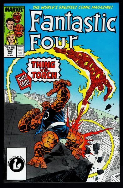 1987 Marvel Fantastic Four #305 VF+