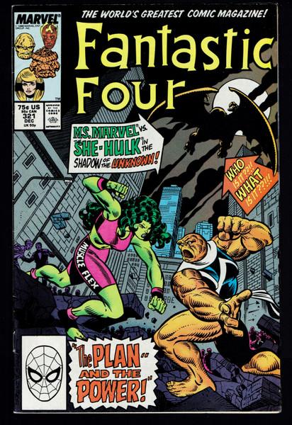 1988  Marvel Fantastic Four #321 FN/VF