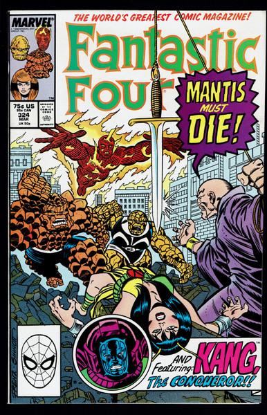 1989 Marvel Fantastic Four #324 VF/NM
