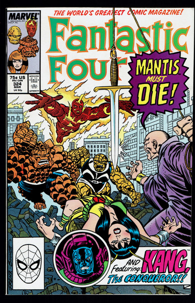 1989 Marvel Fantastic Four #324 VF/NM