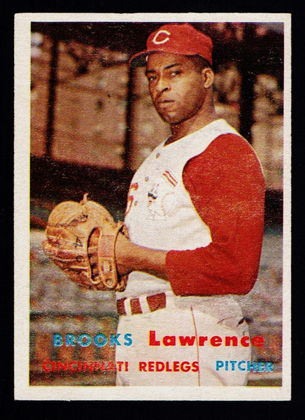 1957 Topps #066 Brooks Lawrence EX