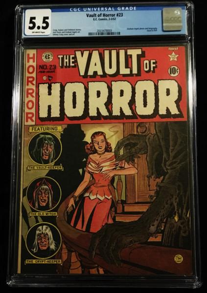 1952 EC Vault of Horror #23 CGC 5.5