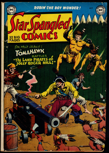 1950 DC Star Spangled Comics #109 GD
