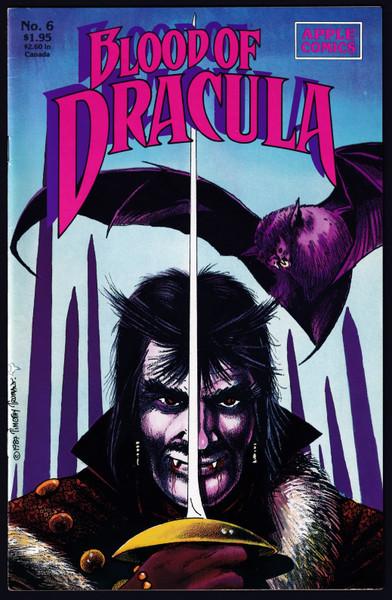 1988 Apple Comics Blood Dracula #6 VF-