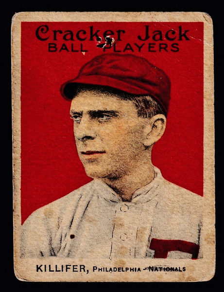 1915 Cracker Jack #135 William Killifer Poor