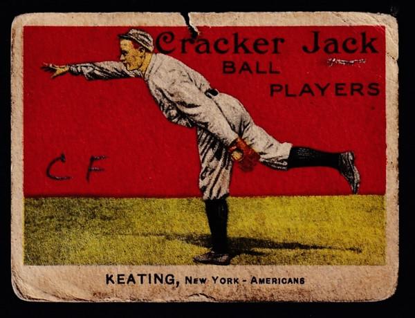 1915 Cracker Jack #095 Ray Keating Poor