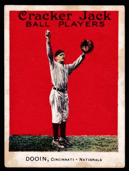 1915 Cracker Jack #038 Red Dooin EX-
