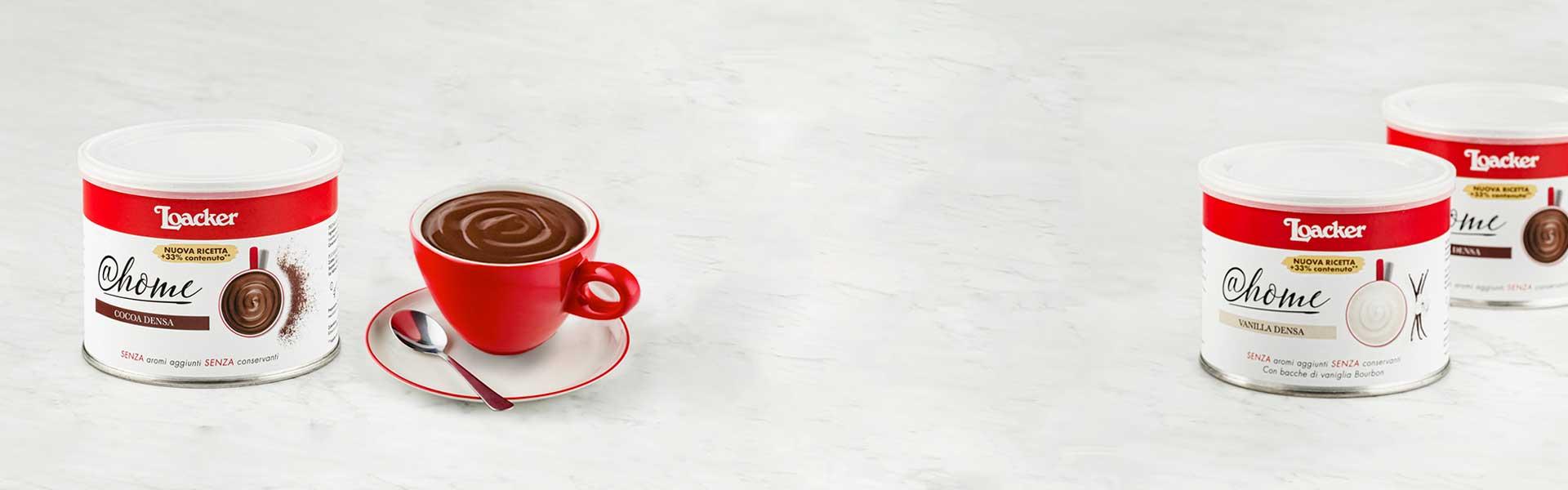 Novità - Densa al cacao e alla Vaniglia