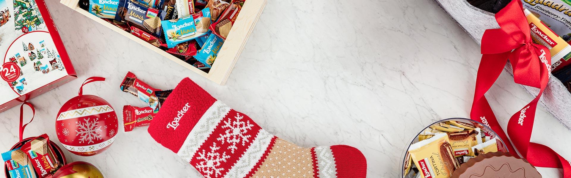 Confezioni speciali e regali per Natale