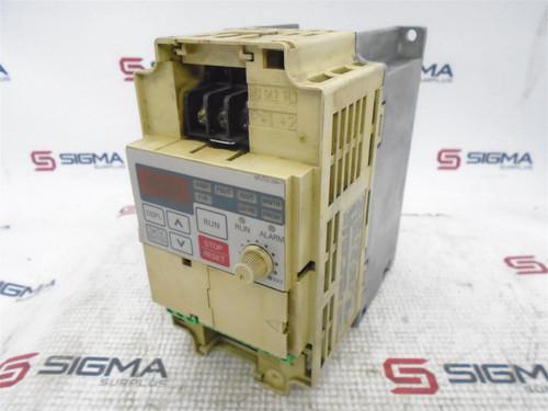 Yaskawa CIMR-J7AA20P7 AC Inverter Drive 200V 3-Phase 0.75kW *Missing Faceplate* - 64048_01.jpg