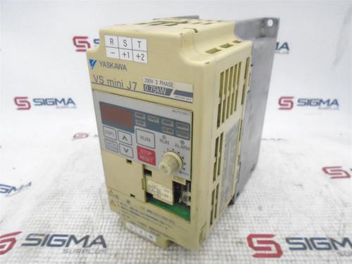 Yaskawa CIMR-J7AA20P7 AC Inverter Drive 200V 3-Phase 0.75kW - 64044_01.jpg