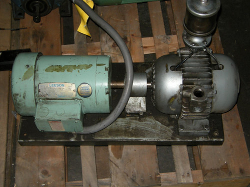 Leeson Motor with Gast Pump 1.5Hp 60Hz 208-230V 4.6A 1740Rpm Fr:F145T - 1165_01.jpg