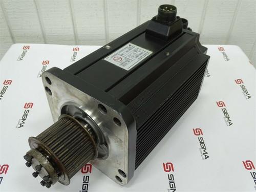 Yaskawa Electric AC Servo Motor USAMED-20BW2, 2kW, 1000RPM, 18.8A - 72474_01.jpg