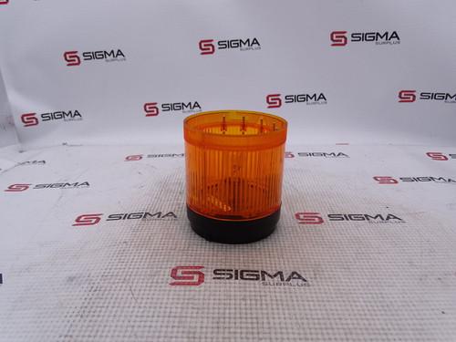 Allen-Bradley 855T-B10DN5 Ser. B Stack Light Orange 120VAC 0.058A - 86387_01.jpg