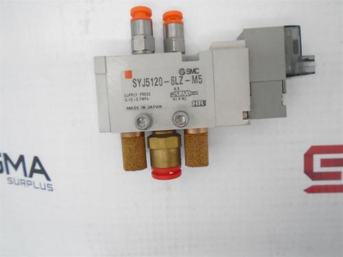 SMC SYJ5120-6LZ-M5 Solenoid Valve 0.15-0.7MPa - 49063_01.jpg