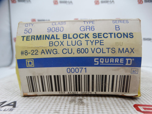 Square D 9080-GR6B Terminal Block *Box of 42* - 88559_02.jpg