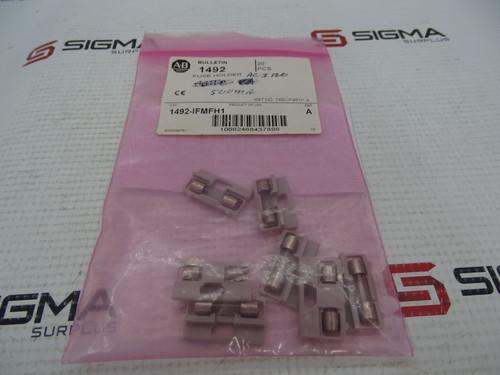 Allen-Bradley 1492-IFMFH1 6PC SER A W/ ACI120 Fuse Holder W/ Fuse Bag of 6 - 89523_02.jpg