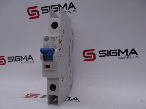 Allen-Bradley 1489-M1C080 Miniature Circuit Breaker SER D - 89907_01.jpg