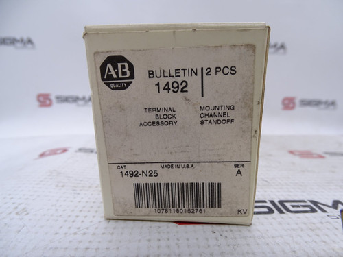 Allen-Bradley 1492-N25 SER A Terminal Block Standoff Bracket - 90515_02.jpg