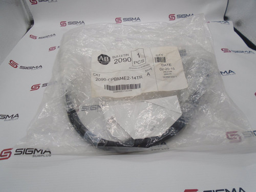 SEALED Allen-Bradley 2090-CPBM4E2-14TR  Power and Brake Transition Cable - 90098_01.jpg