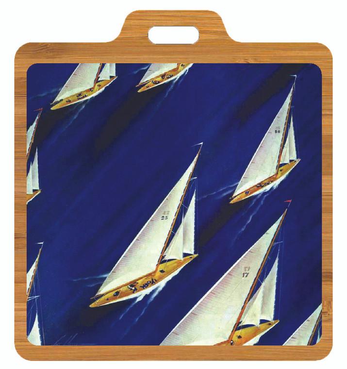 Saturday Evening Post: Sailing Bag Tag