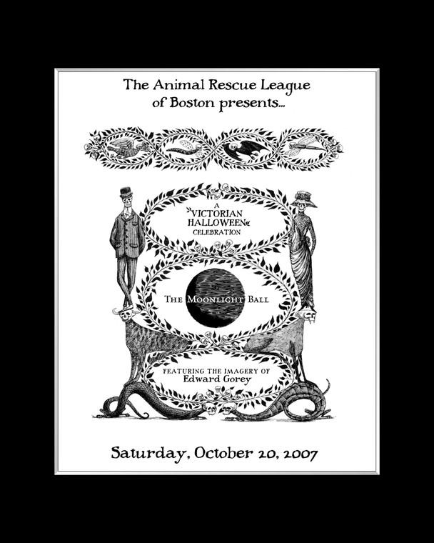 Edward Gorey : Animal Rescue League Laser Cel