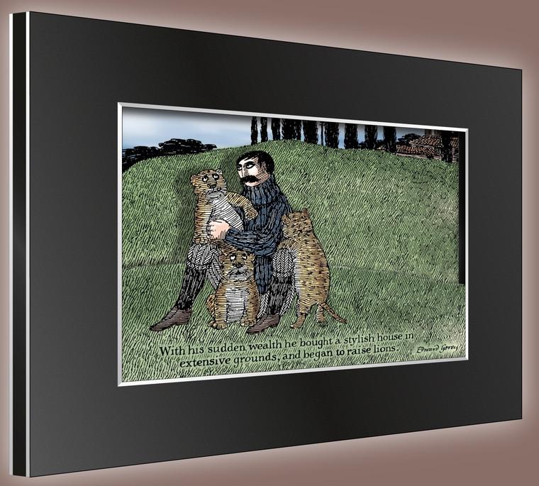 Lost Lions 3D HD2 Laser Cel