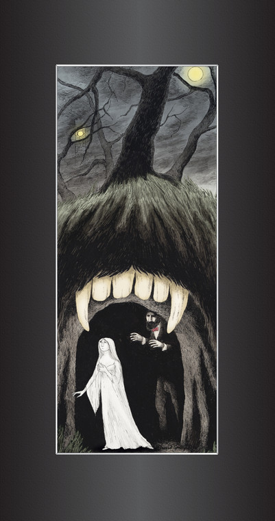 Edward Gorey: Lucy and the Cave 3D Laser Cel