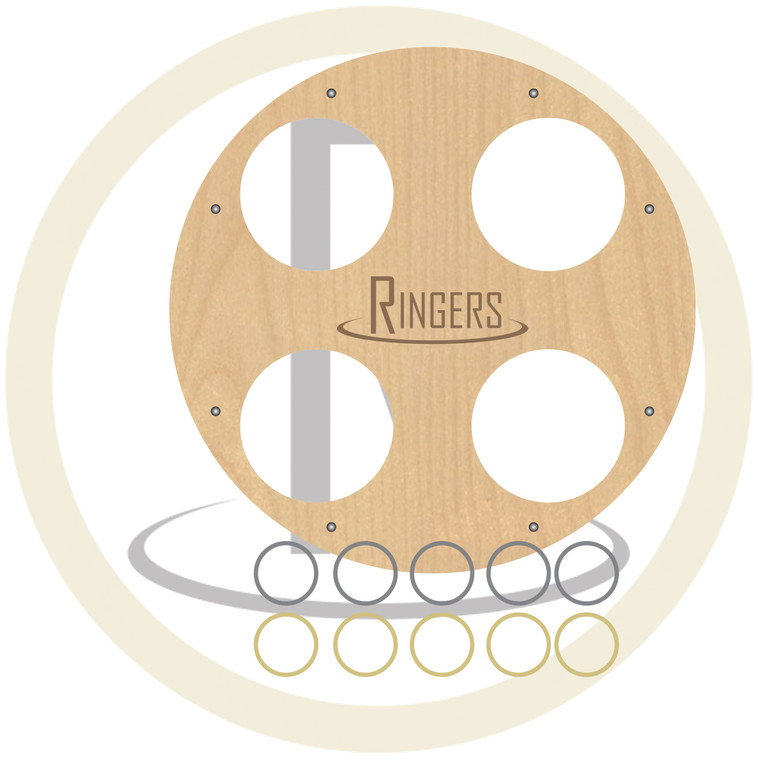 Ringers- 4 Hole Board (Large Bottle)
