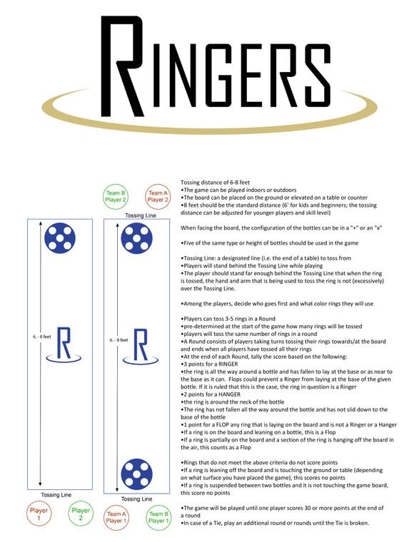 Ringers- Unicorn (Standard Bottles & Cans)