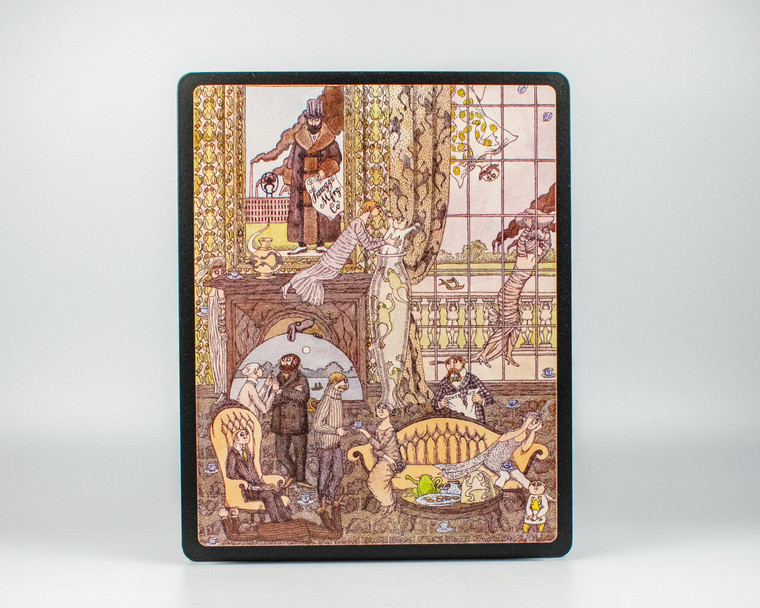 Edward Gorey - Frawgge Manufacturing Co Art Board