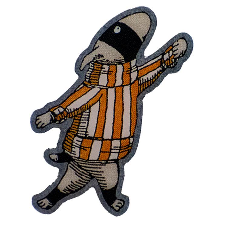 Edward Gorey Tinies: Dog Burglar  Enamel Pin