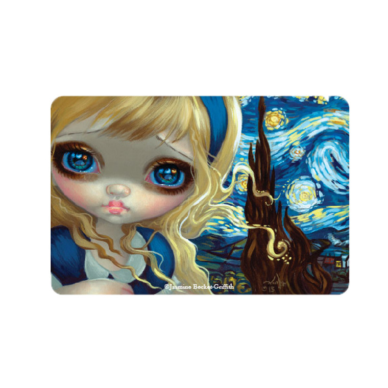Jasmine Becket-Griffith-  Alice & the Starry Night Magnet