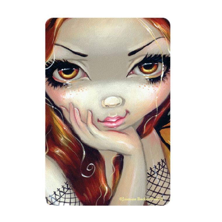 """Jasmine Becket-Griffith-  """"Faces of Faery 112"""" Magnet"""