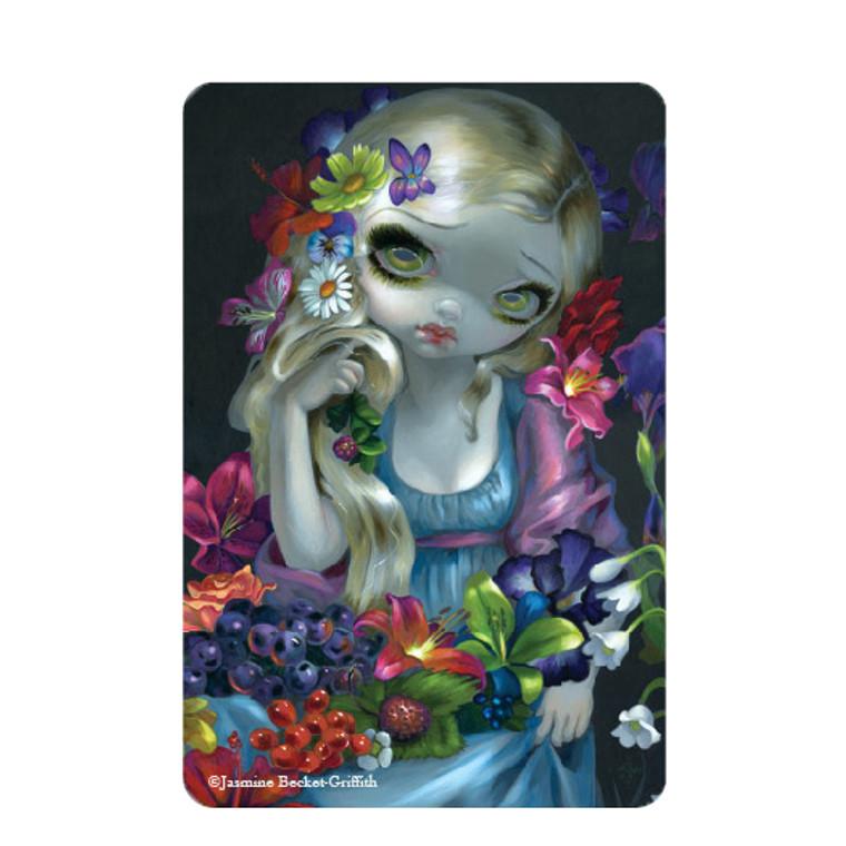 "Jasmine Becket-Griffith- ""Flora"" Magnet"