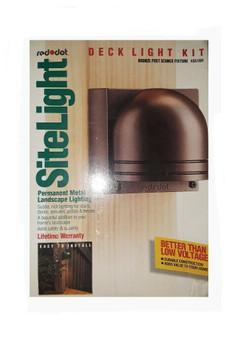 Red Dot K851BR | Bronze Post Top Fixture | Site Light (New!)