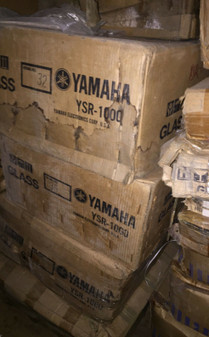 YAMAHA YSR-1000 Audio Video A/V Audio Equipment Electronics Rolling Rack Casters