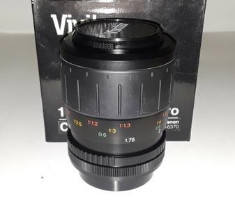 Vivitar 100mm/f3.5 Macro 1:2x Lens for Canon (BRAND NEW!)