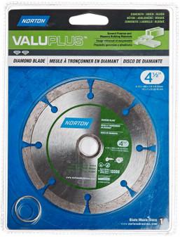 "Norton Valuplus Diamond Blade 4-1/2"" x 0.080"" (Pack of 1) 684099"