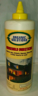 ORGANIC SOLUTIONS | HOUSEHOLD INSECTICIDE, 88% DIATOMACEOUS, INSECTS, RATS, ETC