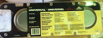 "Sunbeam 50102 Flat-Head Single Burner for Outside Gas Grills 4""x15.75"" UNIVERSAL"