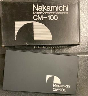 Nakamichi CM-100 Microphone BRAND NEW In Original Case
